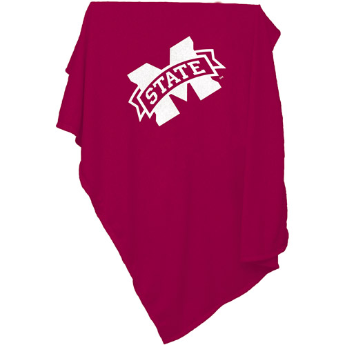 Logo Chair NCAA Mississippi State Sweatshirt Blanket