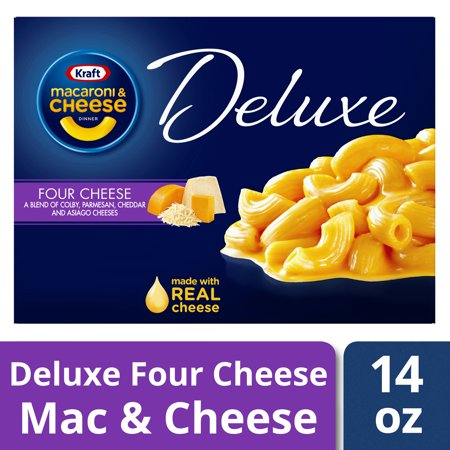 Kraft Deluxe Four Cheese Macaroni & Cheese Dinner, 14 oz Box - Halloween Dinner For Two