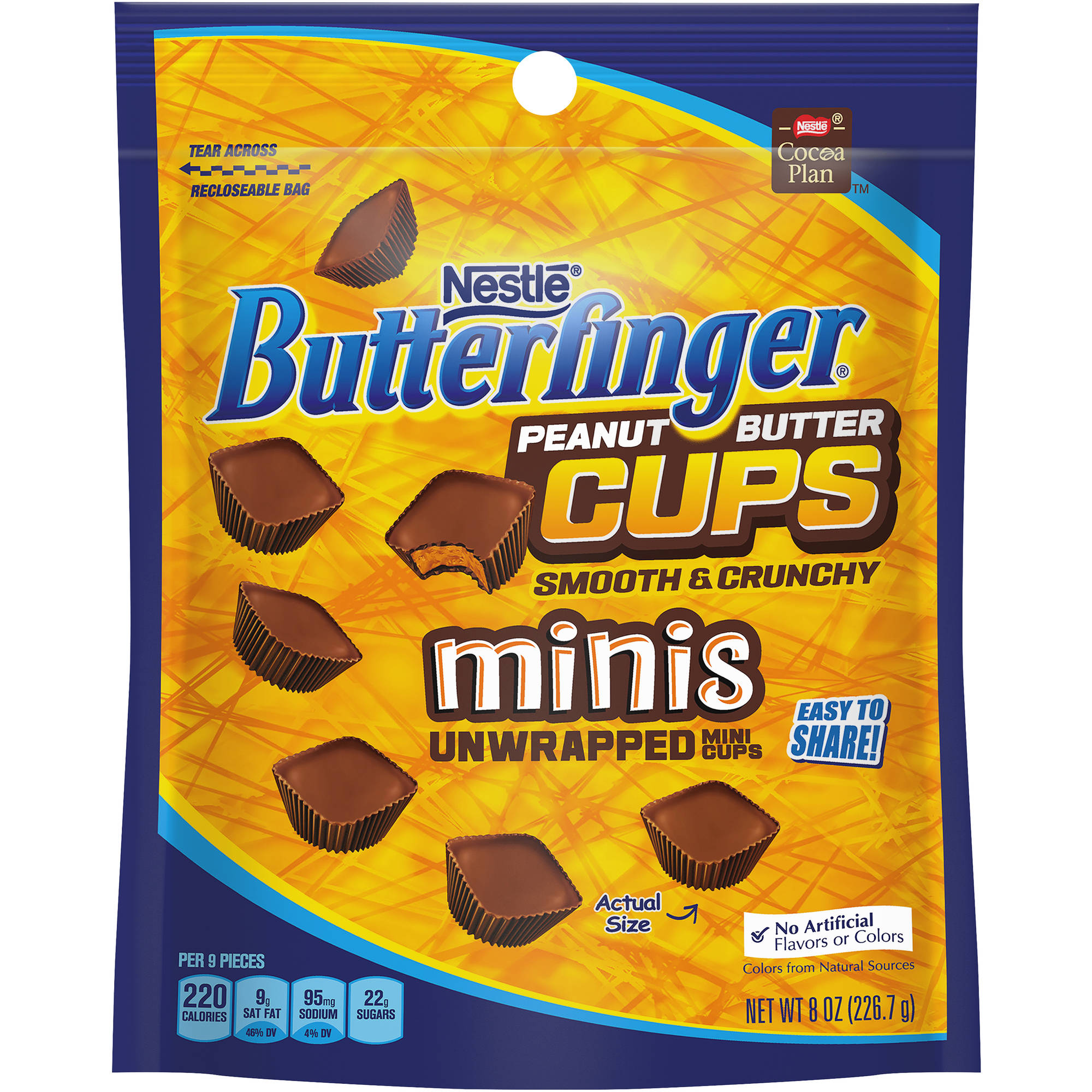 Butterfinger Peanut Butter Cups Minis, 8 oz
