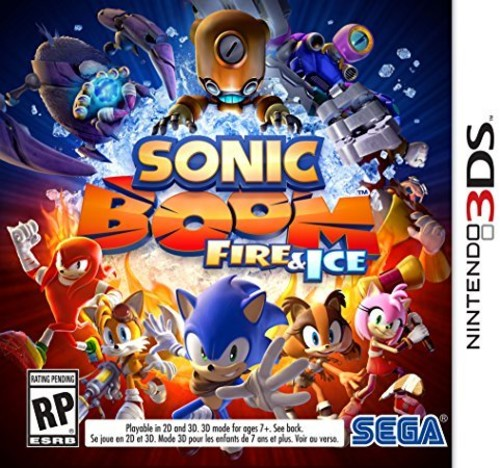 Sonic Boom: Fire & Ice for Nintendo 3DS