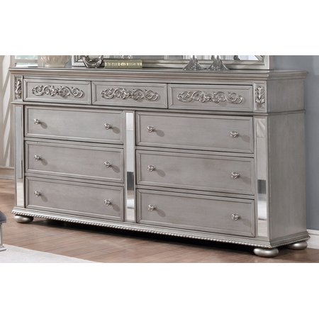 Best Quality Furniture Classic Style 9 Drawer Dresser