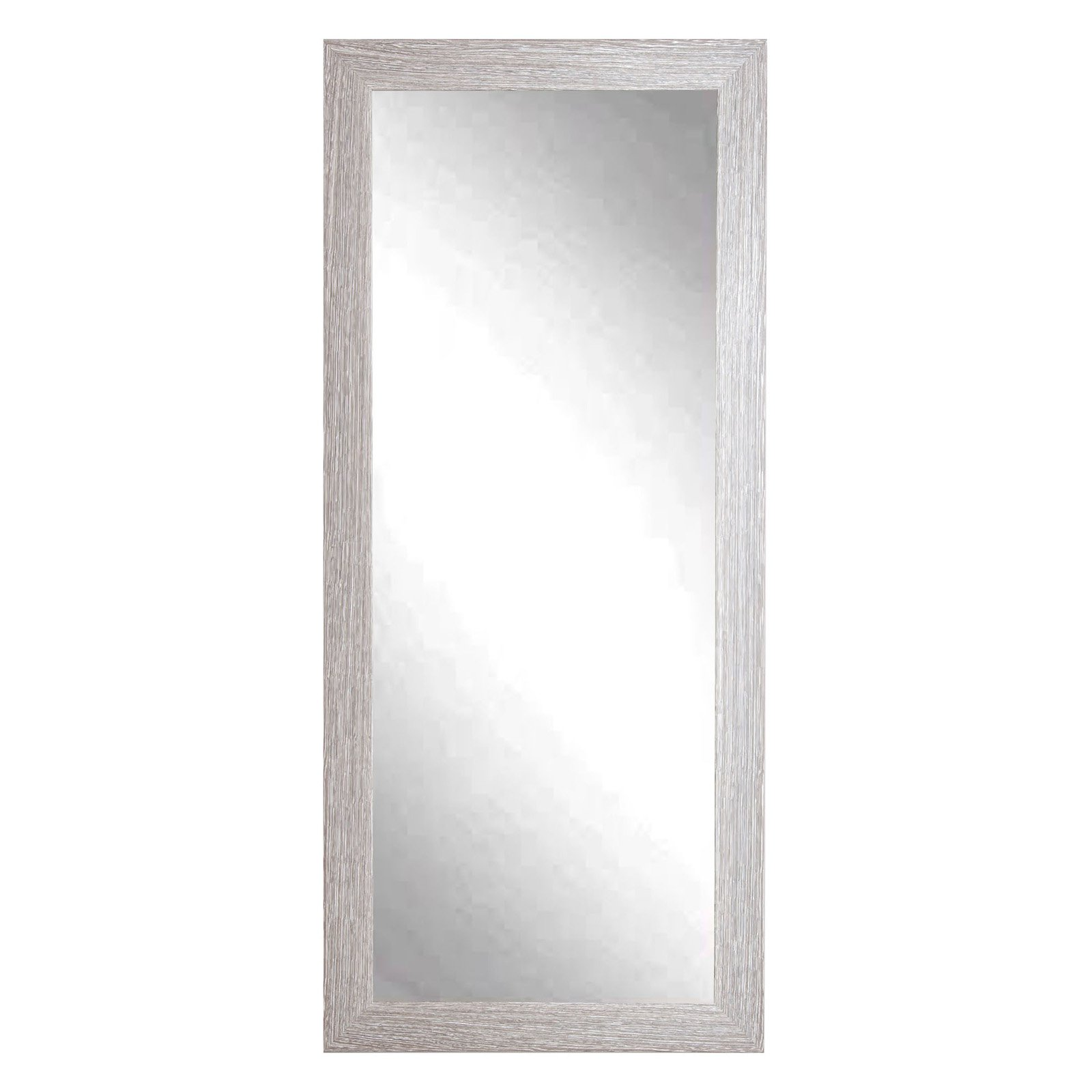 BrandtWorks Farmhouse Barnwood Leaning Floor Mirror by