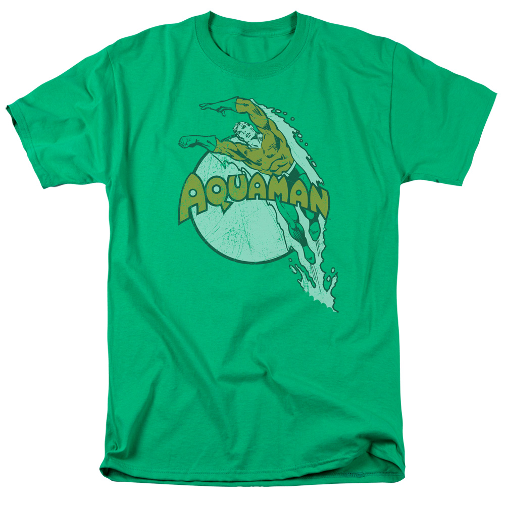 DC/SPLASH - S/S ADULT 18/1 - KELLY GREEN - XL