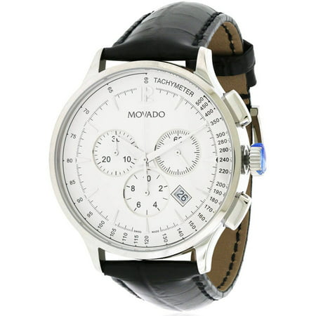 Movado Circa Leather Chronograph Men's Watch, 0606575