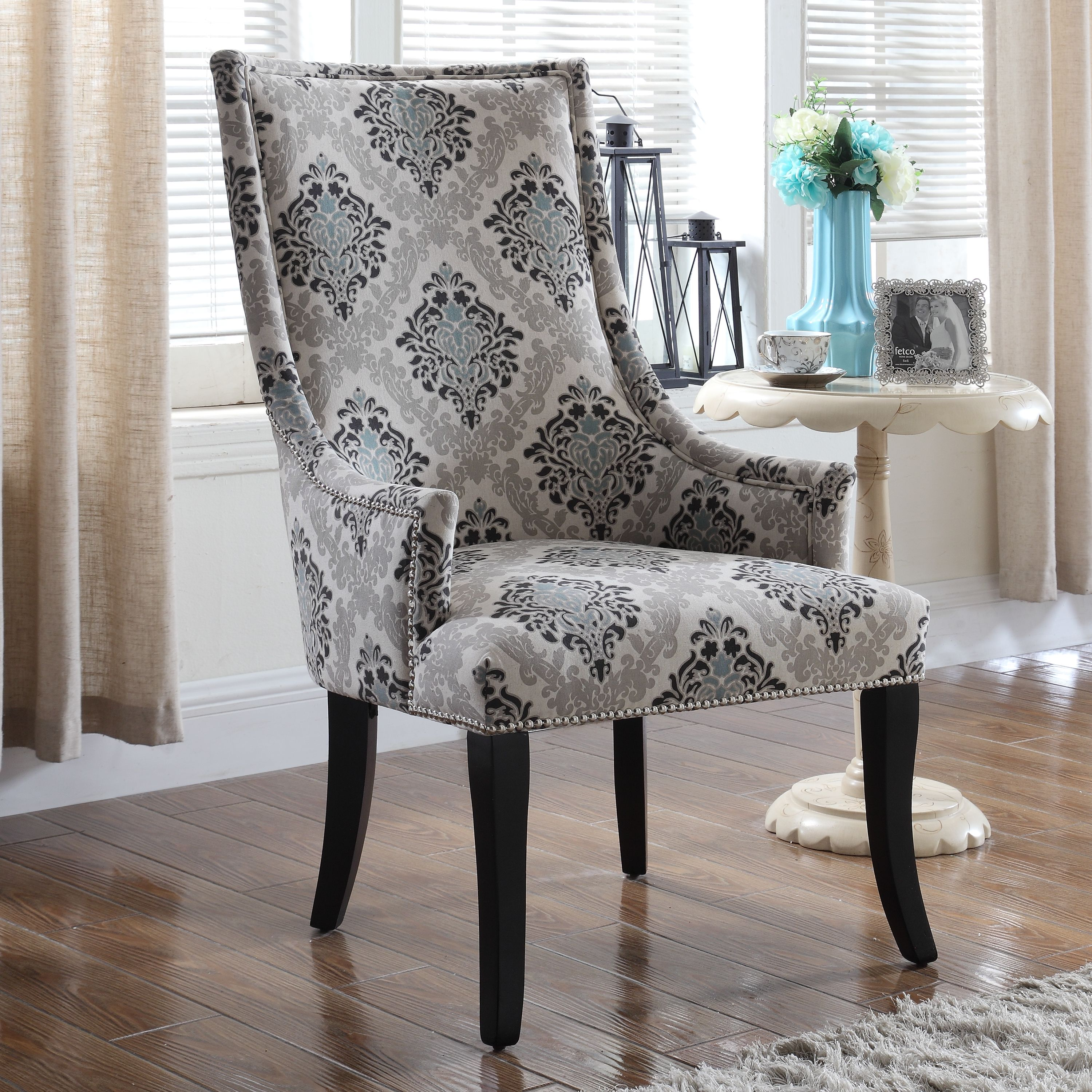 Best master furnitures audrey fabric living room accent chair