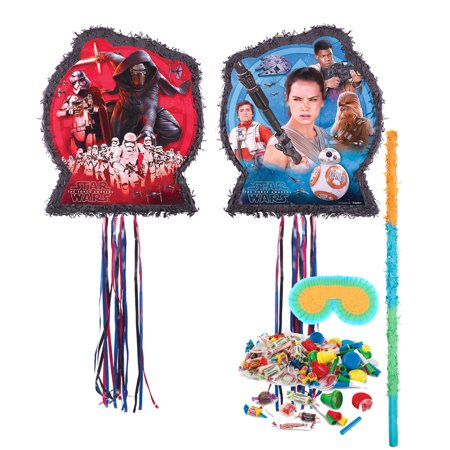Star Wars Party Supplies Clearance (Star Wars Episode Vll Pinata Kit - Party)