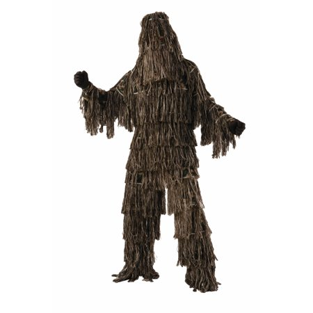 Adult Male Ghillie Suit Costume by Forum Novelties  74820, - Halloween Ghillie Suit