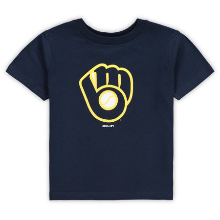 Milwaukee Brewers Infant Primary Logo T-Shirt - Navy
