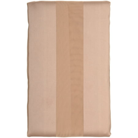 Better Homes and Gardens® 84 Inch Taupe Satin Stripe Sheer Panel Pack