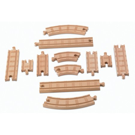 Thomas & Friends Wooden Railway, Straight and Curved Expansion Track - Thomas Train Tracks