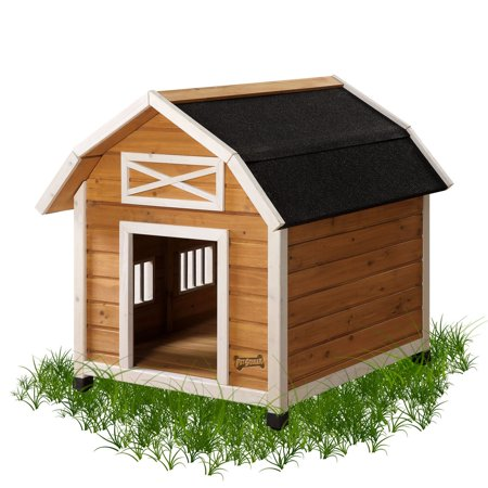 Pet Squeak Barn Dog House