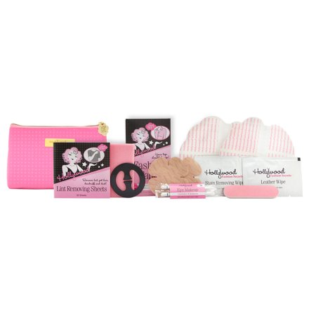 Hollywood Fashion Secrets Stylette Fashion and Beauty Essentials 10 Piece Kit - Pink