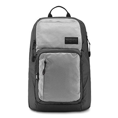 7a323ed34 jansport broadband laptop backpack - silver metallic weave - Walmart.com