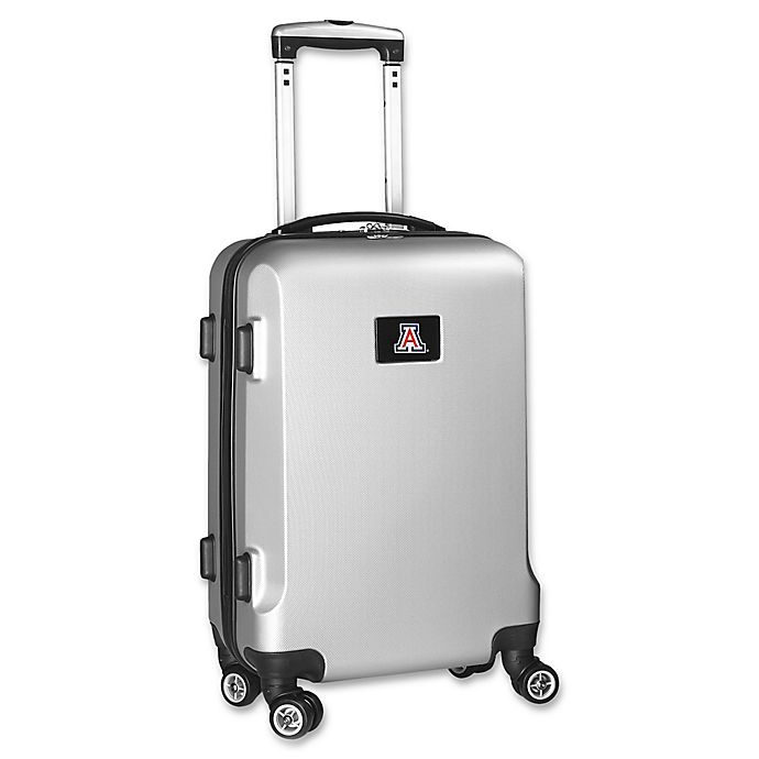 University of Arizona 20-Inch Hardside Carry On Spinner in Silver