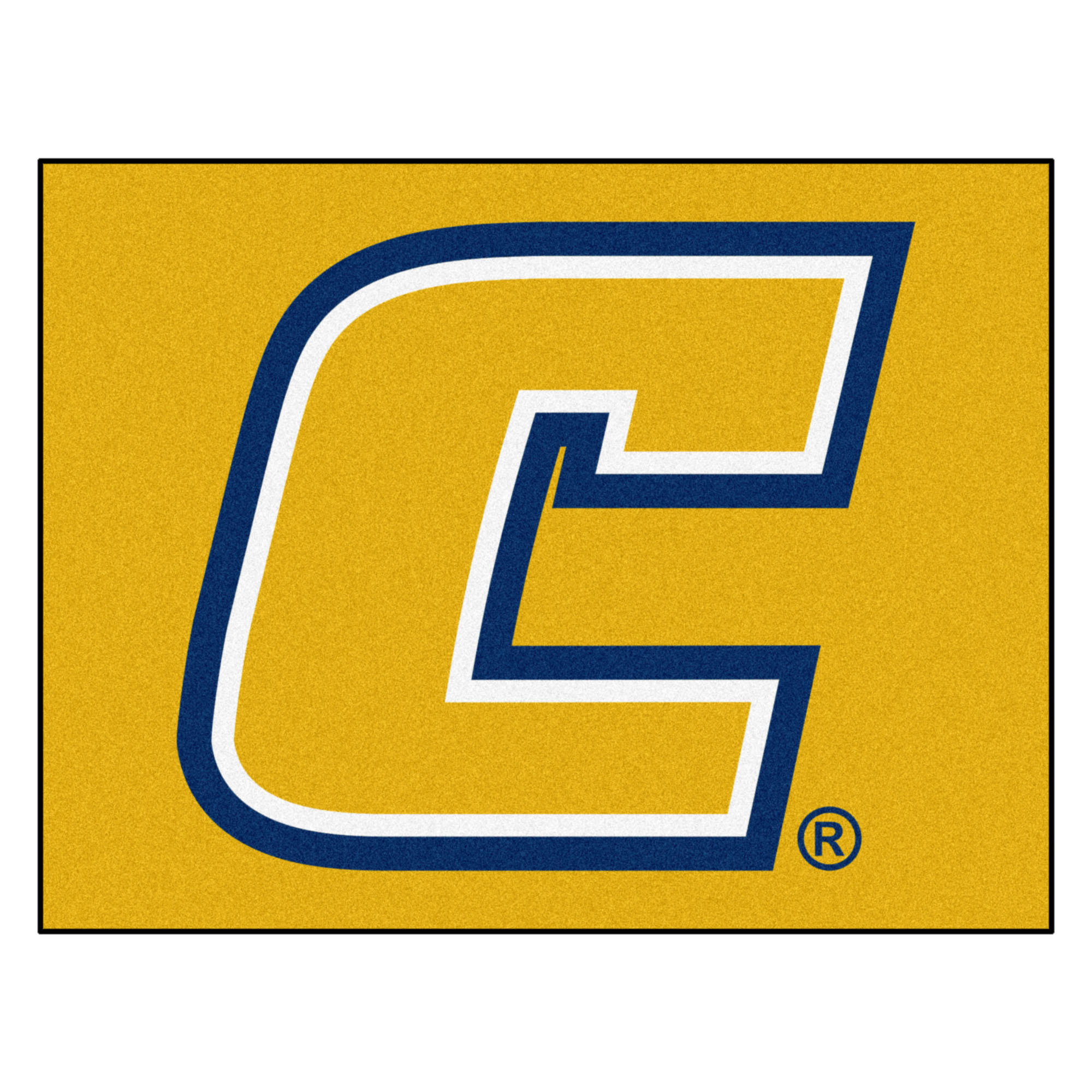 2182 Fanmats College NCAA University Tennessee Chattanooga 33.75 Inch x 42.5 Inch Nylon Face durable Non-skid chromojet-printed washable Rectangular All Star Mat