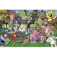 "Trends International SpongeBob Characte Wall Poster 22.375"" x 34"""