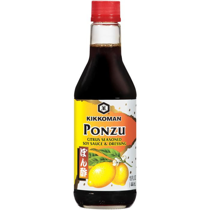 Kikkoman Ponzu Citrus Seasoned Soy Sauce & Dressing 15 OZ   (Pack of 6)