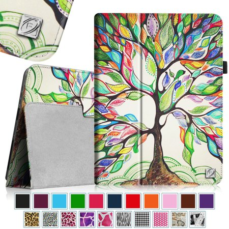 Fintie-Apple-iPad-1st-Generation-Folio-Case-Slim-Fit-Vegan-Leather-Stand-Cover-with-Stylus-Holder-Love-Tree