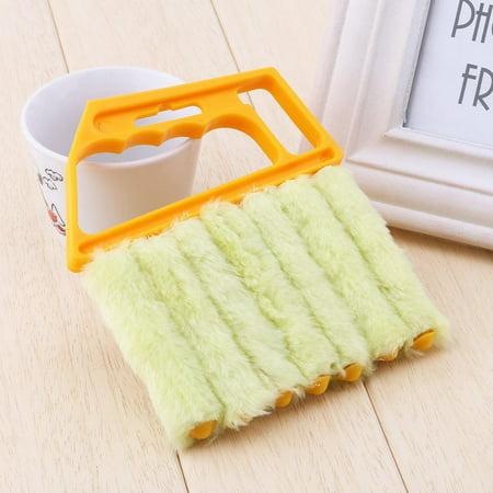 Ejoyous Mini nettoyeur tenu dans la main, nettoyeur de nettoyeur de climatiseur de fenêtre aveugle vénitien de brosse - image 1 de 11