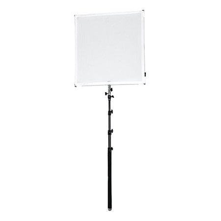 Reflector Scrim (Pro Studio Solutions 75x75cm (29.5x29.5in) Sun Scrim - Collapsible Frame Diffusion & Silver/White Reflector Kit with Boom Handle and Carry Bag )