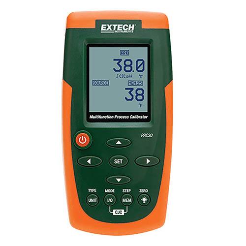 Temperature Calibrator,to2498 Degrees F EXTECH PRC30