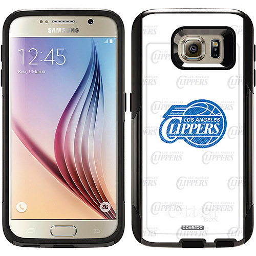 LA Clippers Repeating Design on OtterBox Commuter Series Case for Samsung Galaxy S6