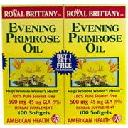 American Health Royal Brittany Evening Primrose Oil, 2/100 CT