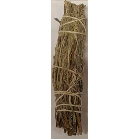 New Age Smudge Stick Blessing Mountain White Sage Cedar Clear Negativity Create Your Sacred Space 4""