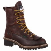 Georgia Boots Mens Logger Waterproof Eh Lace Up S  Casual Work & Safety Shoes -