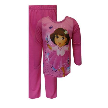 Nickelodeon Dora The Explorer Pink Toddler Pajamas