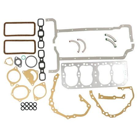 8N6008M New Ford Tractor 2N 8N 9N Engine Overhaul Gasket Set w/ Metal Head Gskt Cyl Head Gasket Set