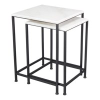 Mainstays McKinley Heights 2-Piece Patio Nesting Table Set
