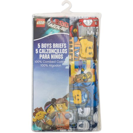 Boys Lego&#174 5-Pack Briefs - Assorted 4