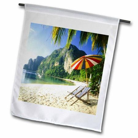 3dRose Phuket Beach In Thailand - Garden Flag, 12 by 18-inch ()