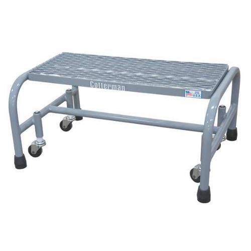 COTTERMAN 1001N2626A1E10B3C1P1 Rolling Ladder, Welded, Platform 12In H