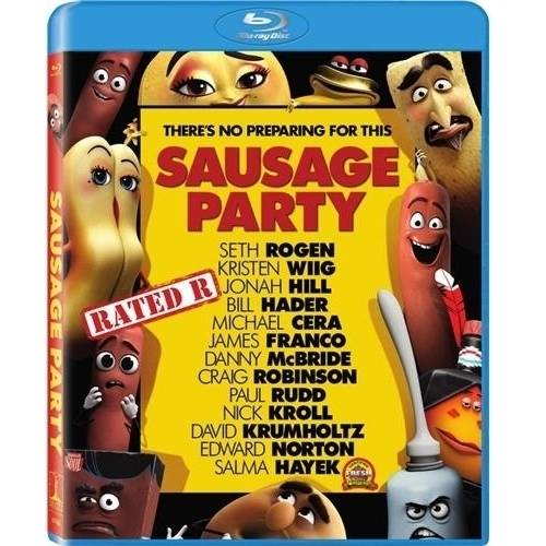 Sausage Party (Blu-ray + Digital HD) (Widescreen) COLBR47088