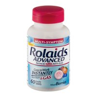 RolaidsAdvanced Tablets, Mixed Berries 60ct
