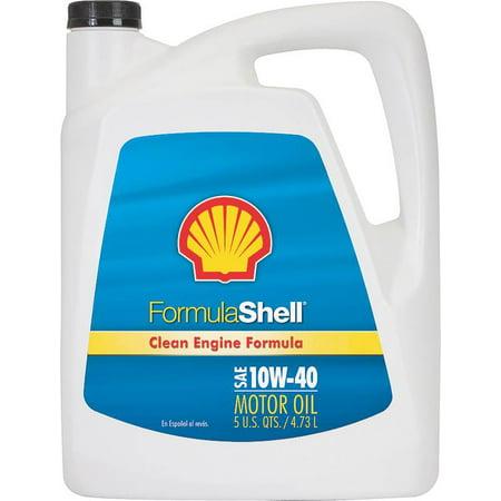 FORMULA SHELL Motor Oil-Formula Shell,5 qt.,10W-40