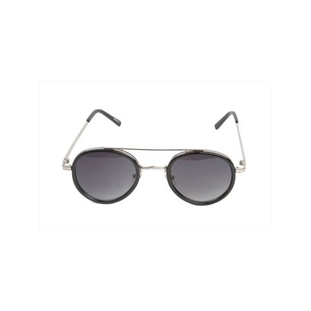 Gravity Shades Vintage Style Metal Cross Bar Horned Rim (Sun Glass Styles)