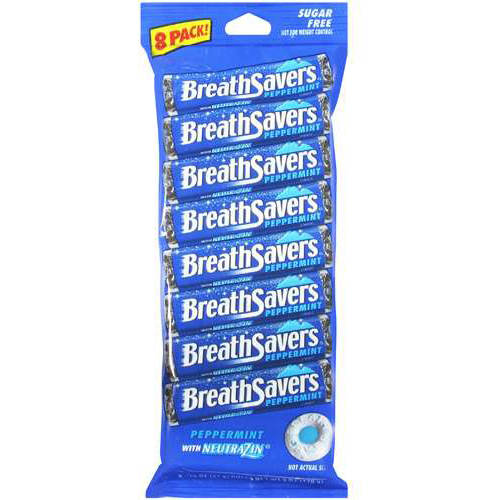 Breath Savers Peppermint Mints, 6 Oz by Generic