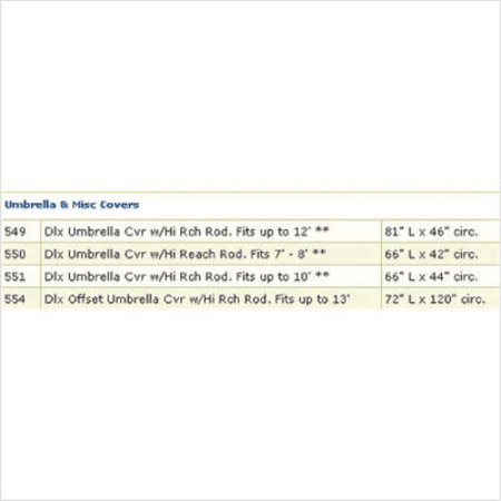 Dayva International Premium Sandstone Beige Tron Weve Dix Umbrella