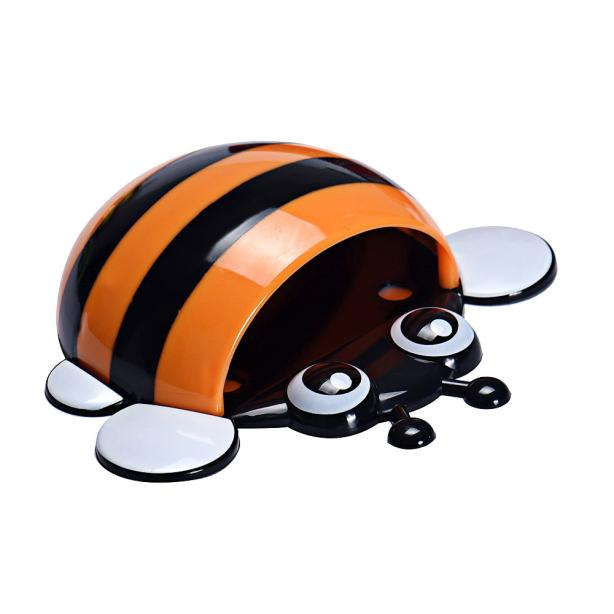 Creative Cute Bee Powerful Suction Toothbrush Holder Toothpaste OR