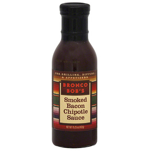 Bronco Bob's Smoked Chipotle Bacon Sauce, 15.25 oz (Pack of 6) by Generic