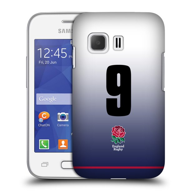 OFFICIAL ENGLAND RUGBY UNION 2017/18 HOME KIT HARD BACK CASE FOR SAMSUNG PHONES 3