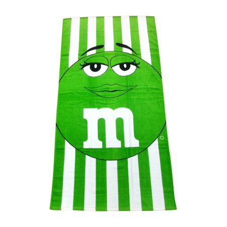 Ramatex M And Cabana Stripe Beach Towel Green