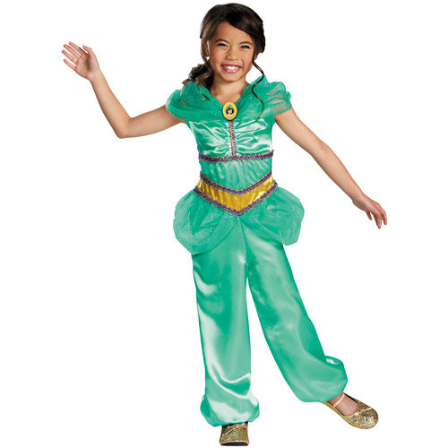Disney Princess Jasmine Sparkle Classic Child Halloween Costume