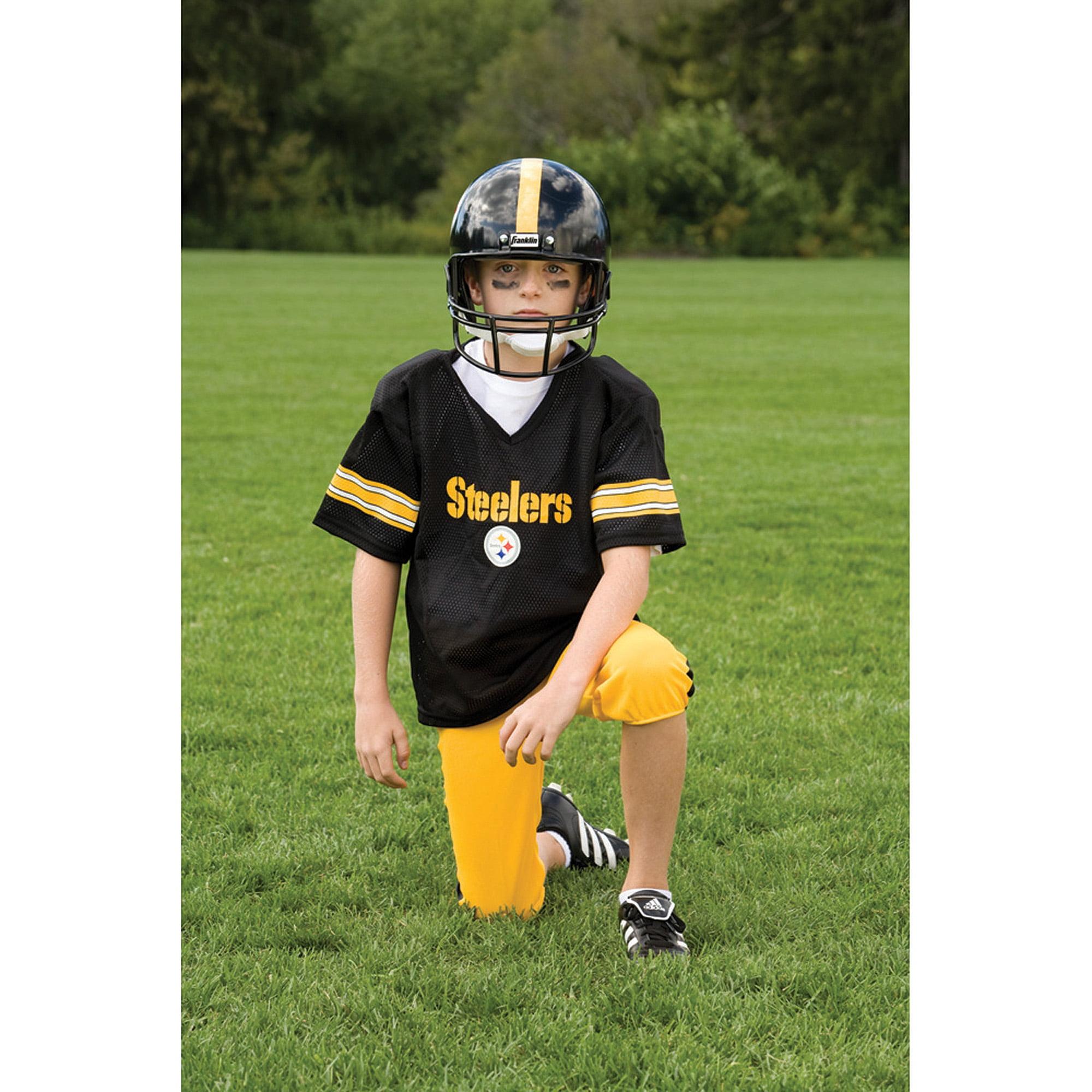 Franklin Sports NFL Pittsburgh Steelers Deluxe Uniform Set