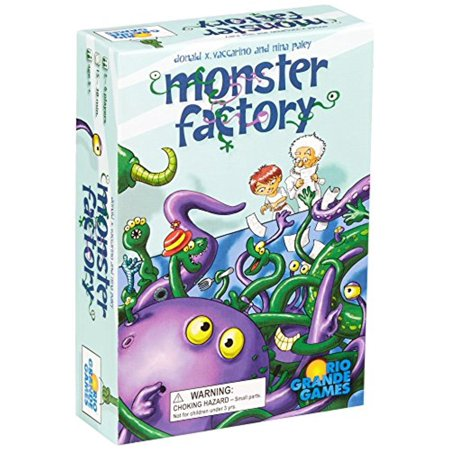 Monster Factory Family Fun Strategy Board Game Rio Grande Games RIO467