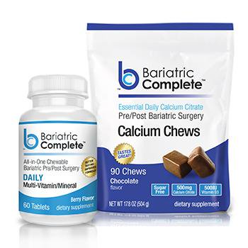 Bariatric Complete Chewy BariBundle- Vitamin and Calcium