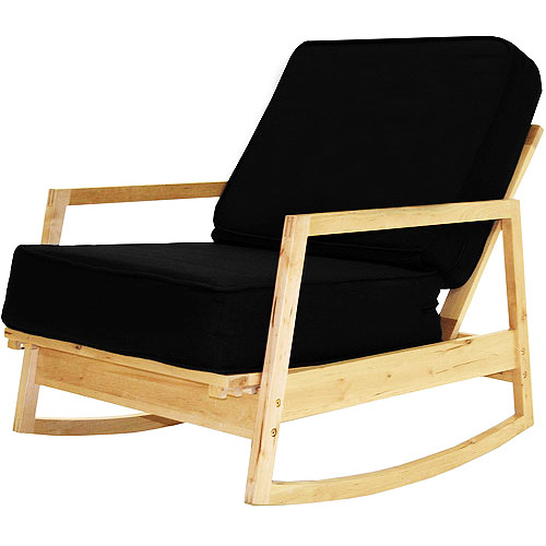 Baltic Collection Rocking Chair, Black